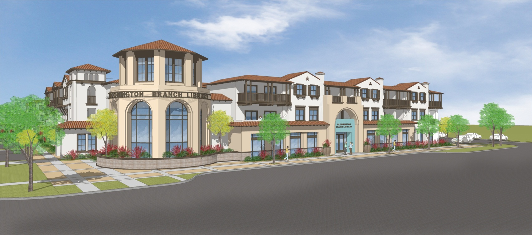 Rendering of Affordable Bloomington Project