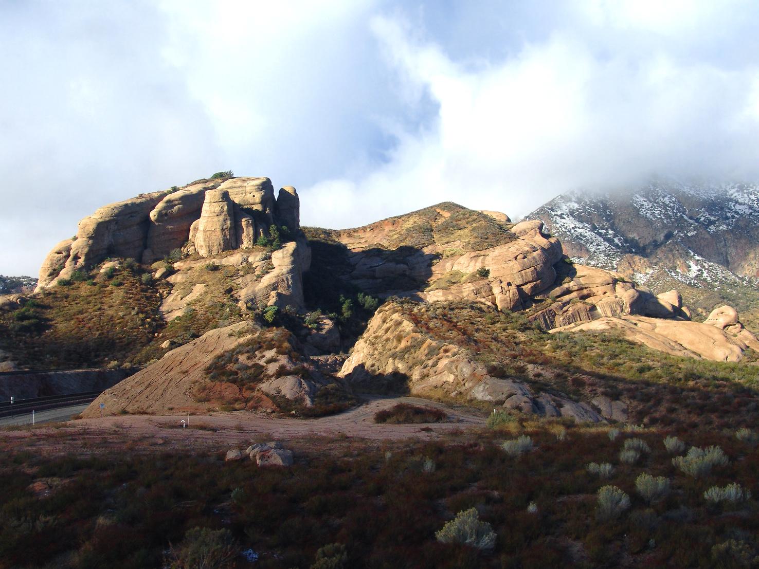 cajon pass landscape