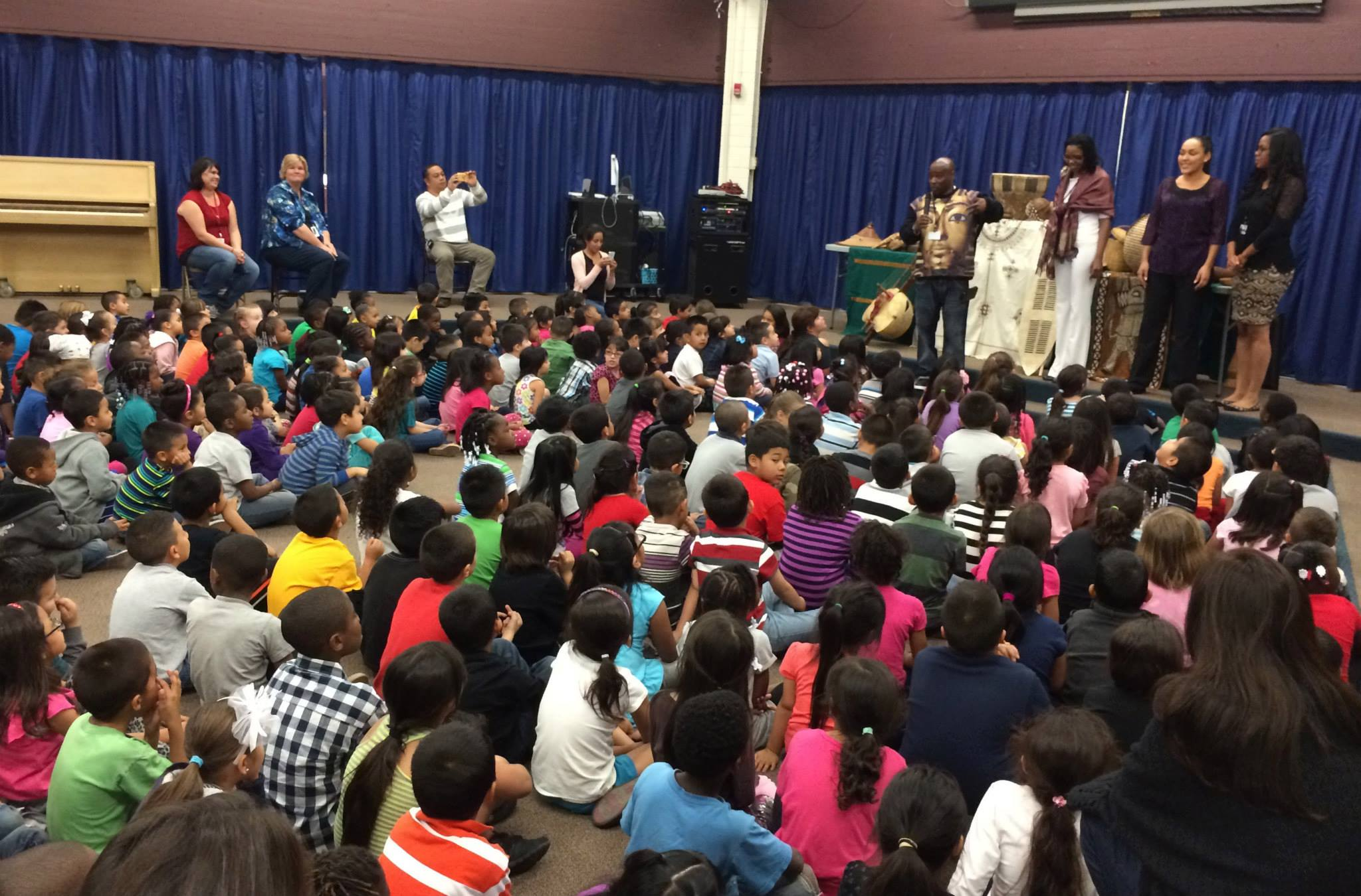 Children learn resiliency and culture in San Bernardino