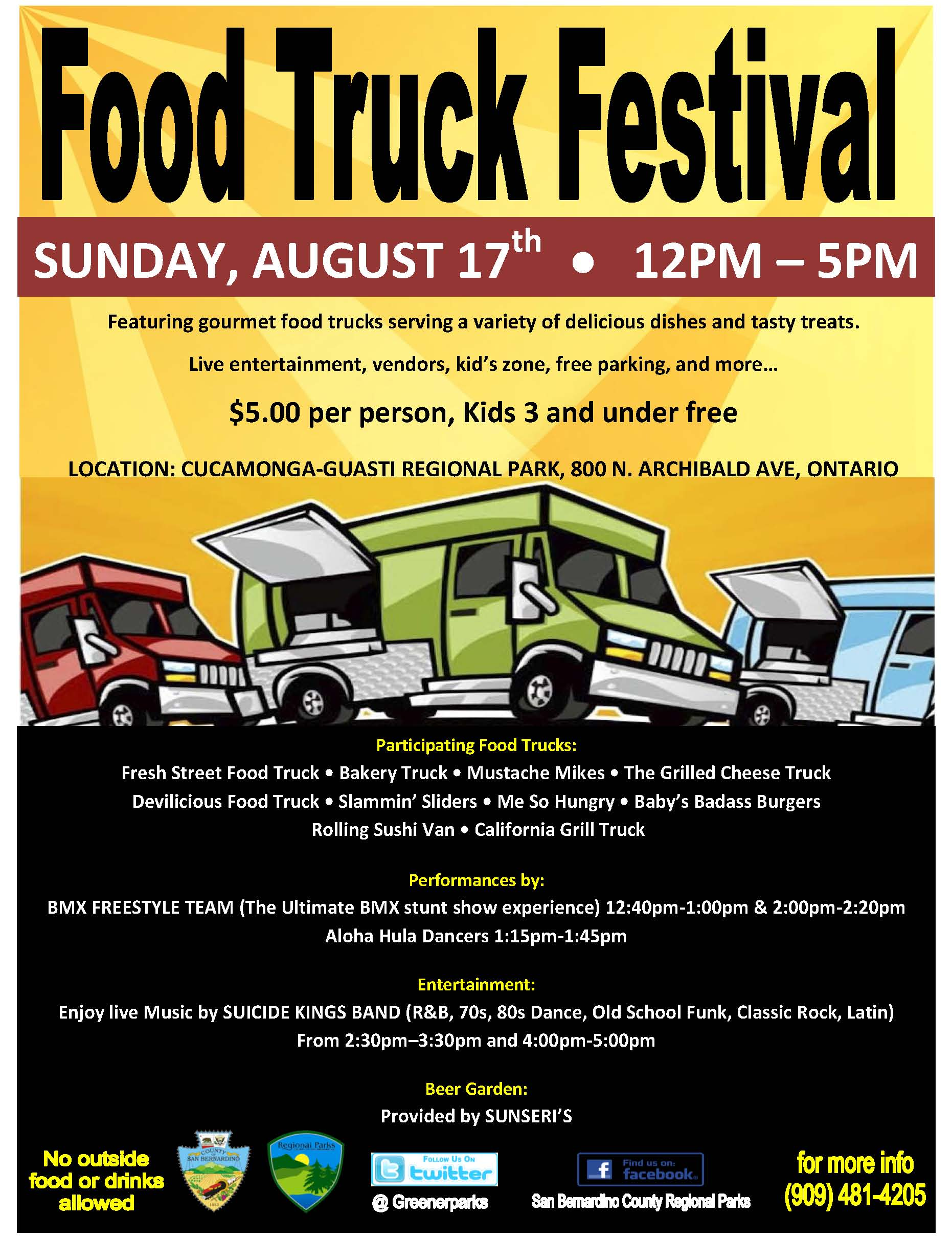 Stomach Grumbling Its Time To Eat At The Food Truck Festival On