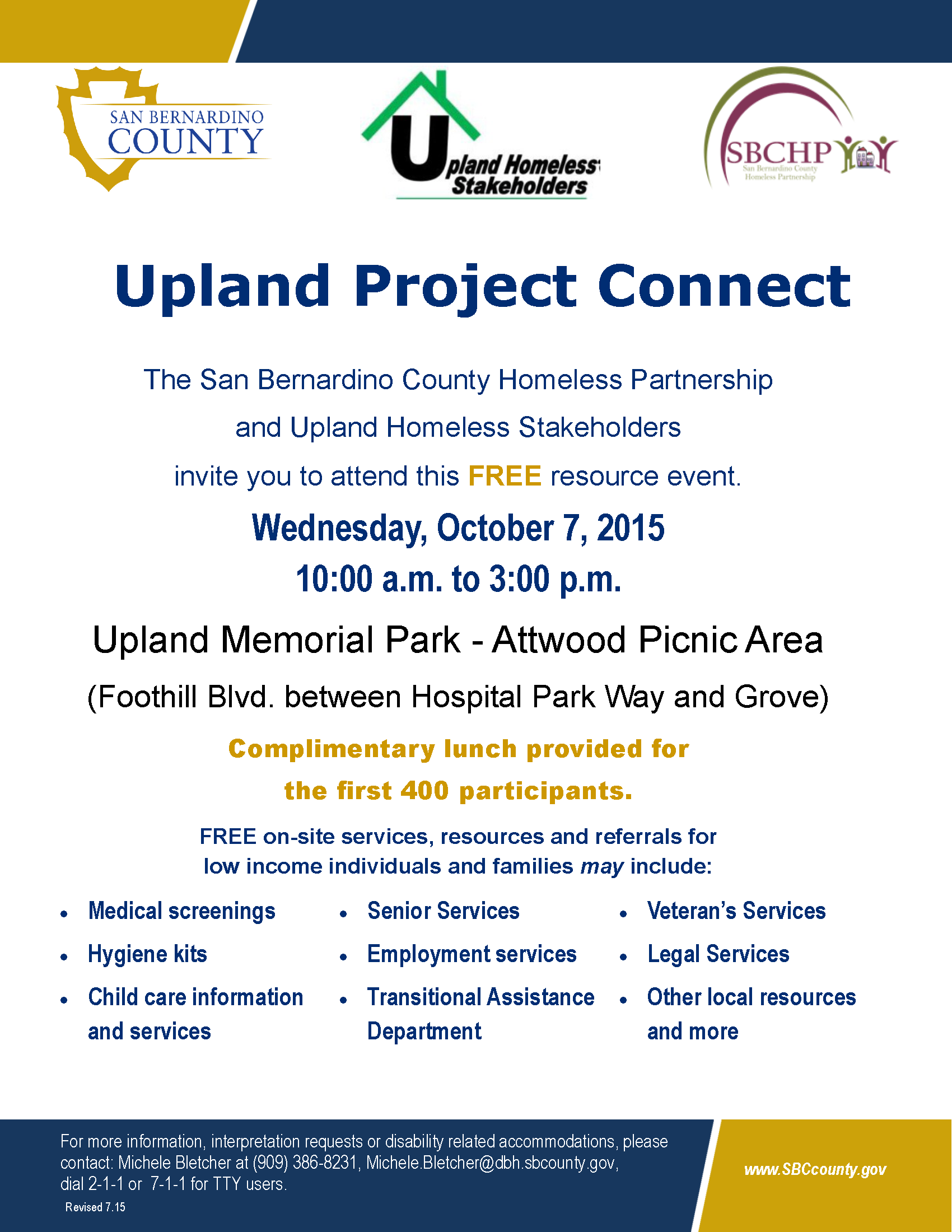 Upland 2015 PROJECT CONNECT Flyer PIO rev  7 15 15 (4)