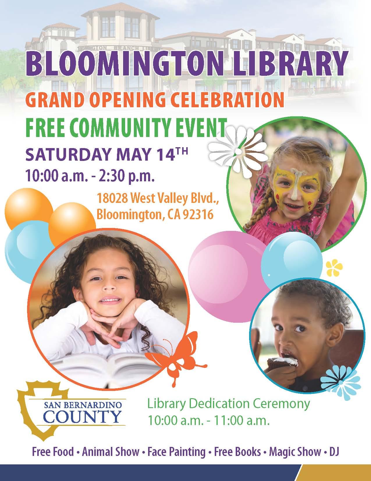 Bloomington Library Flyer_English_Spanish