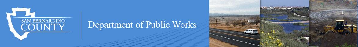 public works banner