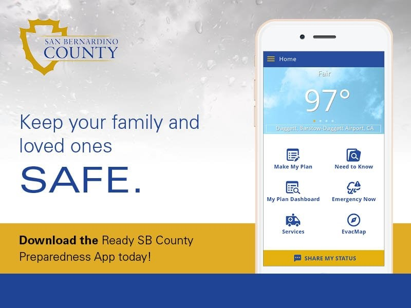 County launches disaster preparedness app | County of San