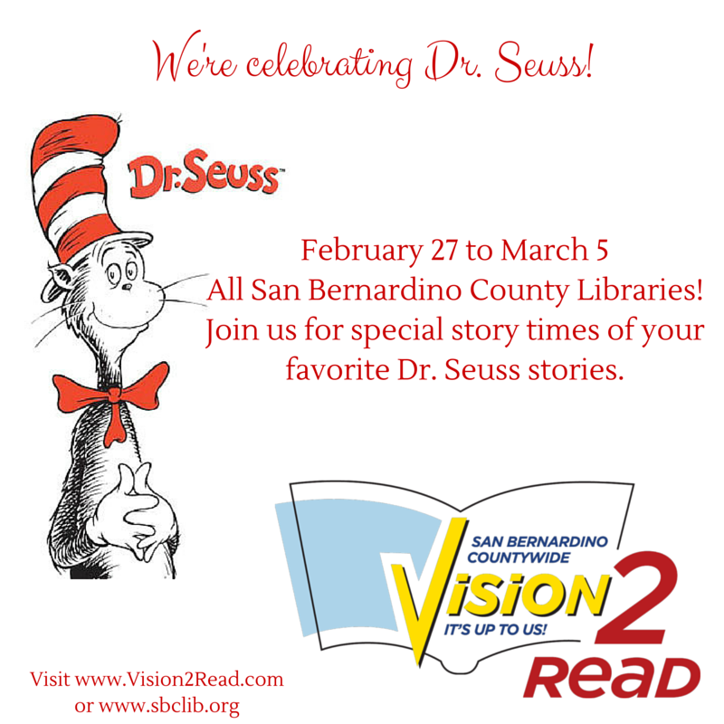 We're celebrating Dr. Suess! (1)