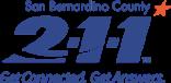 San Bernardino County 211 logo