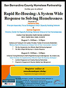 Rapid Re-housing flyer