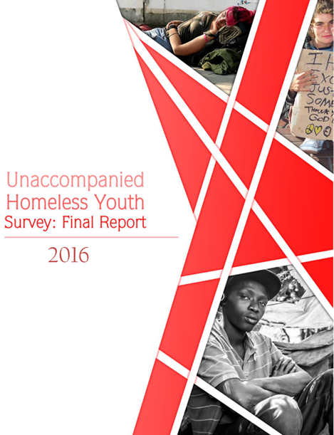 Unaccompanied Homeless Youth Survey: Final Report 2016