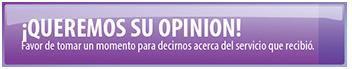 Queremos su opinion - Encuesta