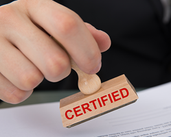 Certified Copy Eligibility
