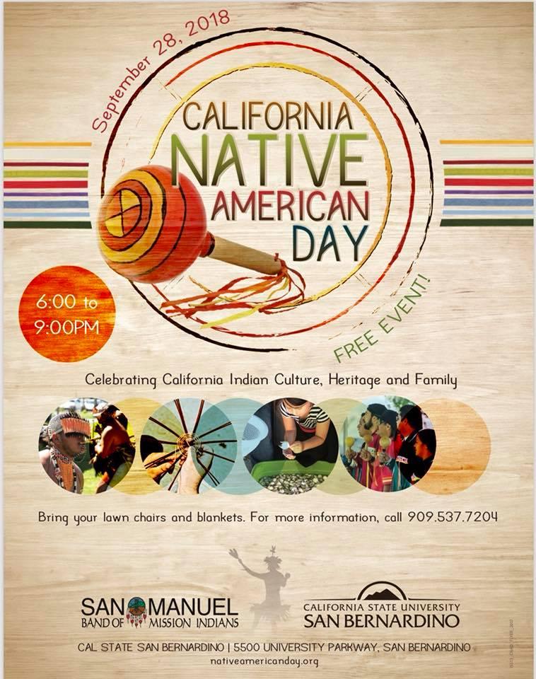 California Native American Day Department of Public Health