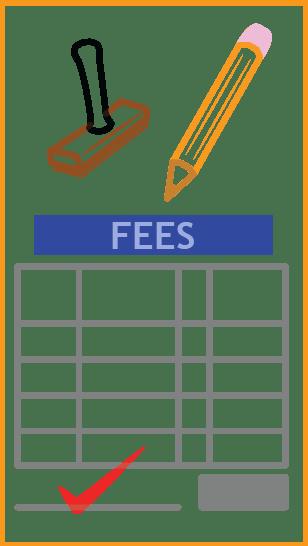 Fee and Calendar