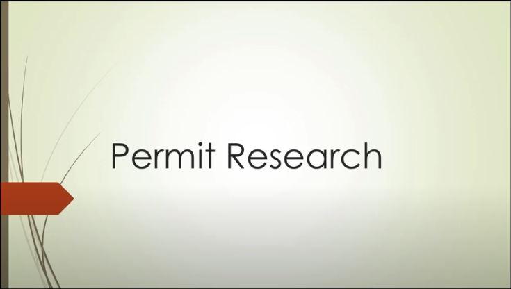 PermitResearch