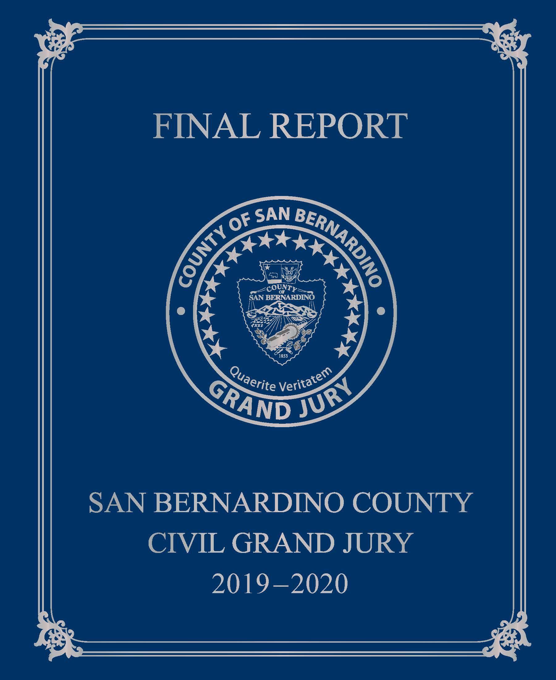 Grand Jury Report 2016/2017 Full Report Cover