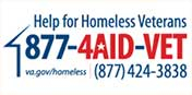 Help for Homless Veterans