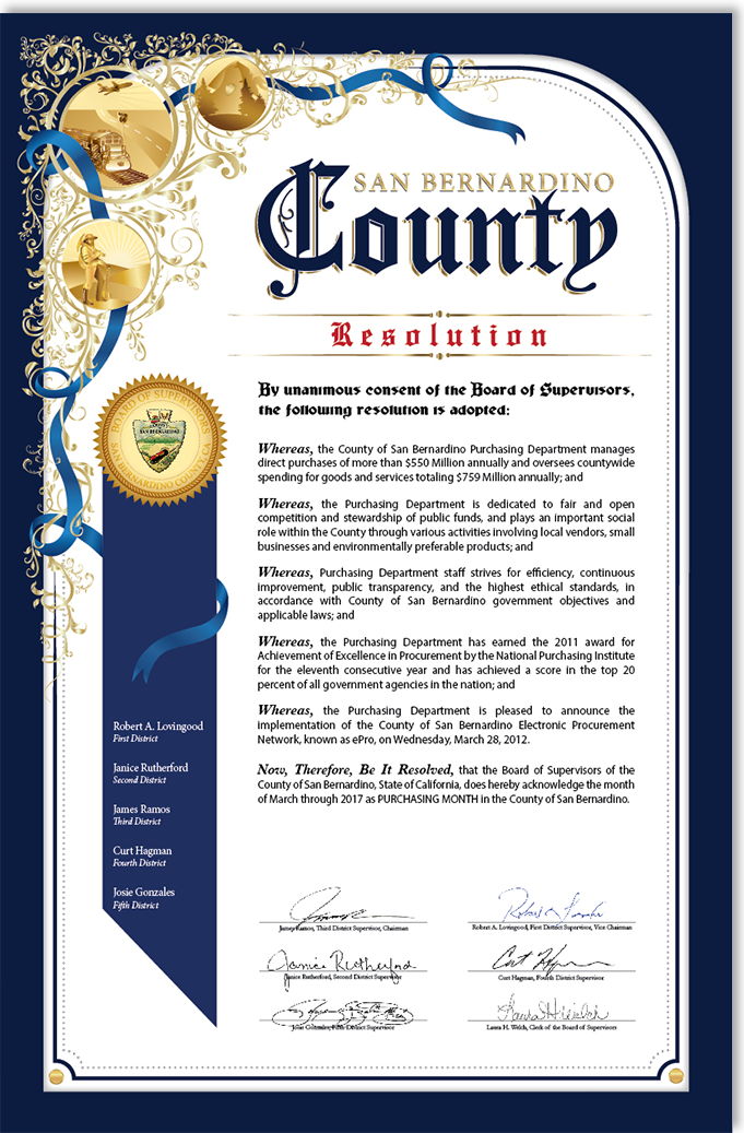 county resolution