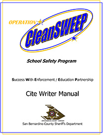 cleansweep manual
