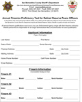 Retired Reserve Annual Firearms Qualification