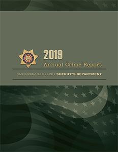 2019 Annual Crime Report Cover