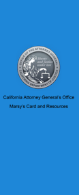 Cal Attorney General Marsy's Card Resource Link