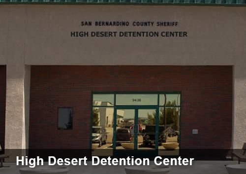 Highdesert detention center