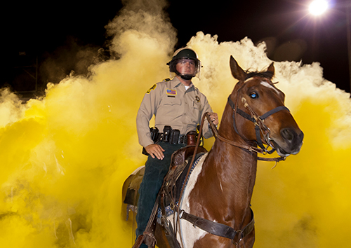 Mounted Enforcement