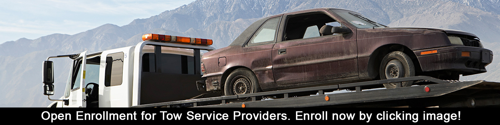 Tow Services Enroll Now