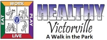 Several Victorville parks have walking trails for your fitness and enjoyment.  Download the on image link.  Avalon Park Brentwood Park Center Street Park Eva Dell Park Hook Park Liberty Park Sunset Ridge Park