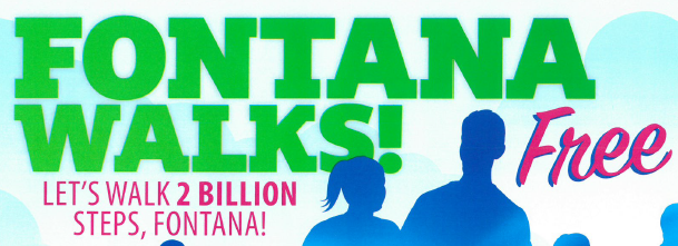 Let's Walk 2 Billion Steps, Fontana