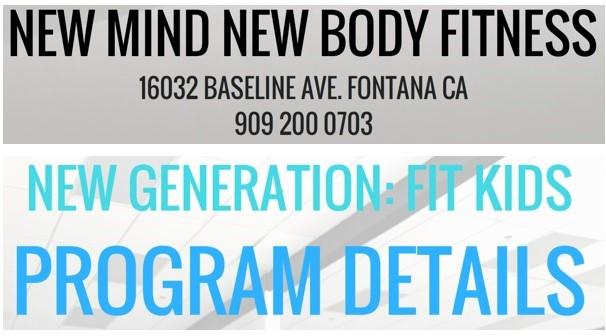 NEW MIND NEW BODY FITNESS