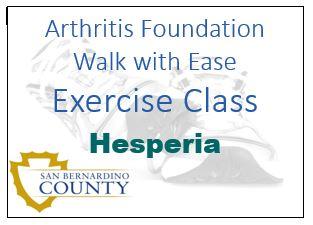 Walk with Ease-Hesperia