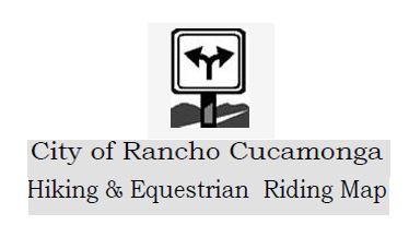 Hiking & Equestrian Riding Map