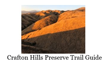 Crafton Hills Preserve Trail Guide