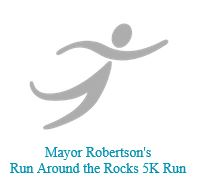 Mayor Robertson's Run Around the Rocks 5K Run