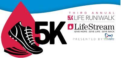 Lifestream 5K-Sept. 29