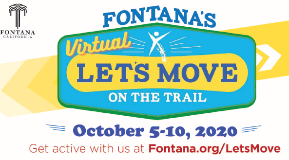 Let's Move onthe Trail-Oct. 5-10