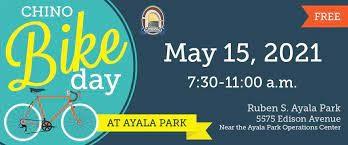 Chino Bike Day- May 15th