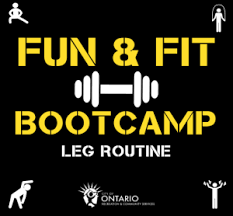Ontartio Fun & Fit Bootcamp- May 7th
