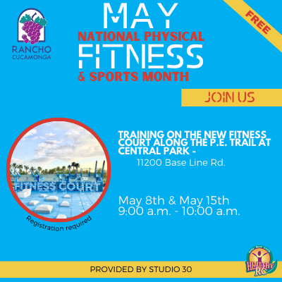 RC Training on the Fitness Court- May 8th & May 15th