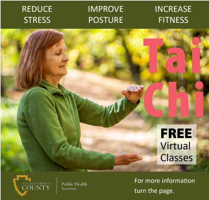 Tai Chi for Arthritis and Fall Prevention- May 6th