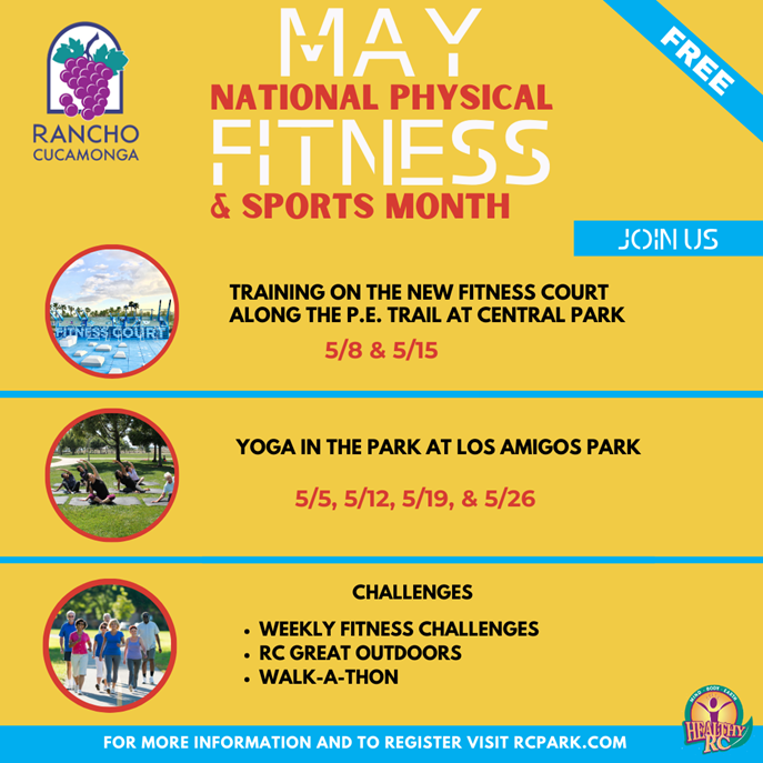 RC Weekly Fitness Challenges