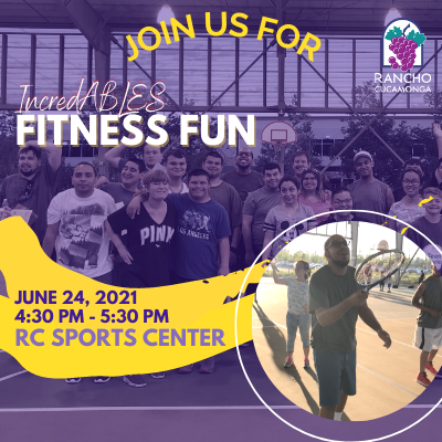 RC IncredABLES Fitness Fun- June 24th