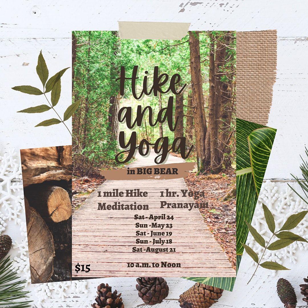 Big Bear Hike and Yoga-June 19th