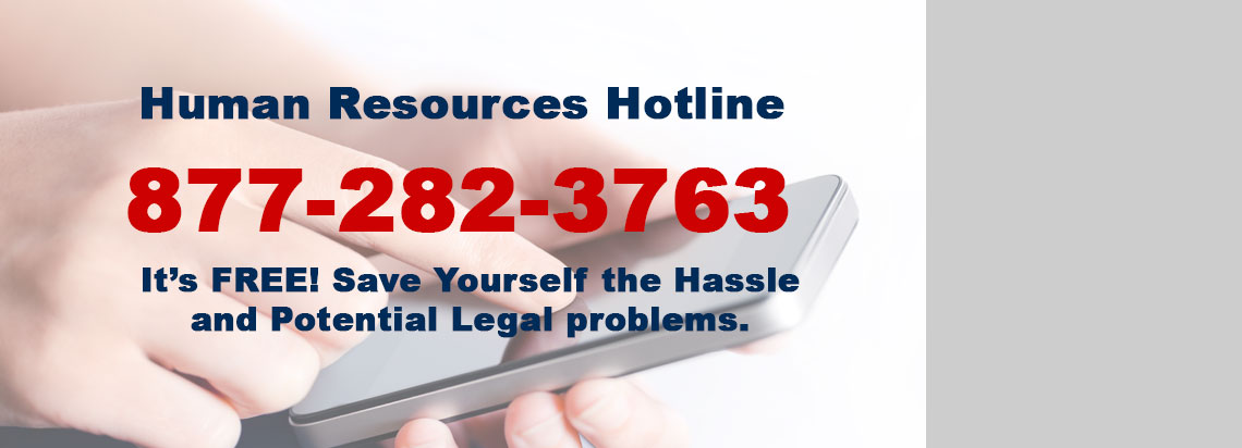 Human Resources Hotline